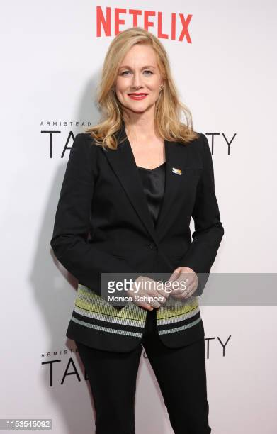 Laura Linney attends Netflix's Tales of the City New York Premiere at The Metrograph on June 03 2019 in New York City