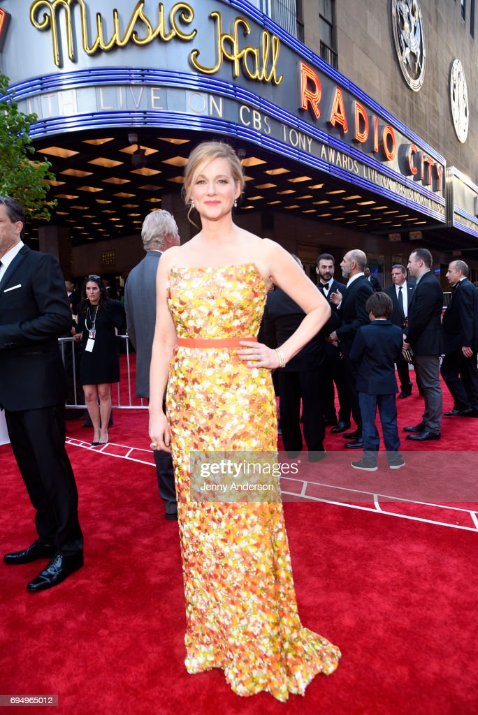 Laura Linney attends the 2017 Tony Awards at Radio City Music Hall on June 11, 2017 in New York City.