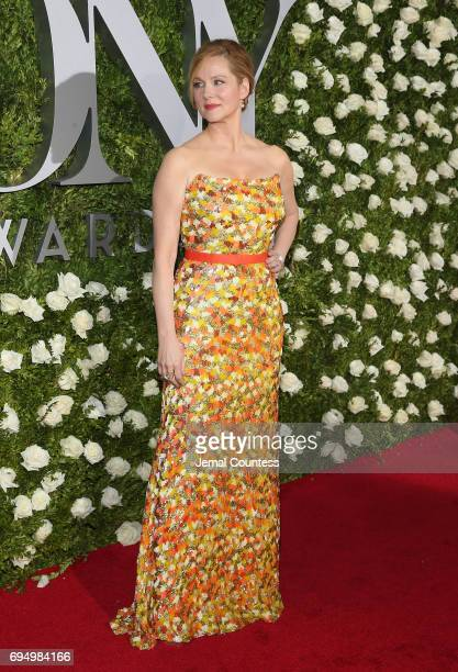 Laura Linney attends the 2017 Tony Awards at Radio City Music Hall on June 11 2017 in New York City