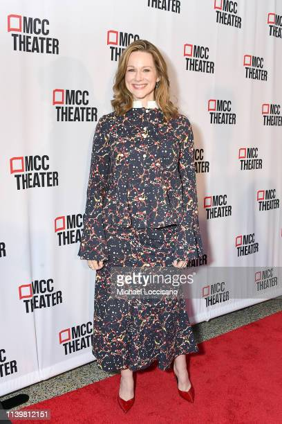 Laura Linney attends the 2019 Miscast Gala at Hammerstein Ballroom on April 01 2019 in New York City