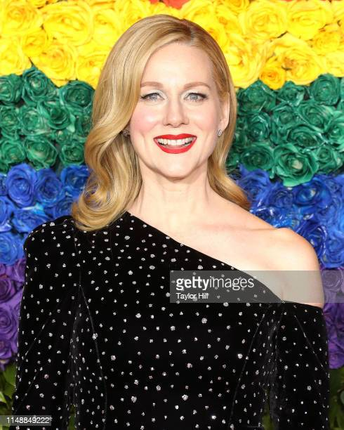 Laura Linney attends the 2019 Tony Awards at Radio City Music Hall on June 9 2019 in New York City
