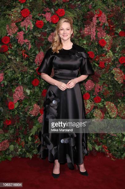 Laura Linney attends the Evening Standard Theatre Awards 2018 at Theatre Royal on November 18 2018 in London England