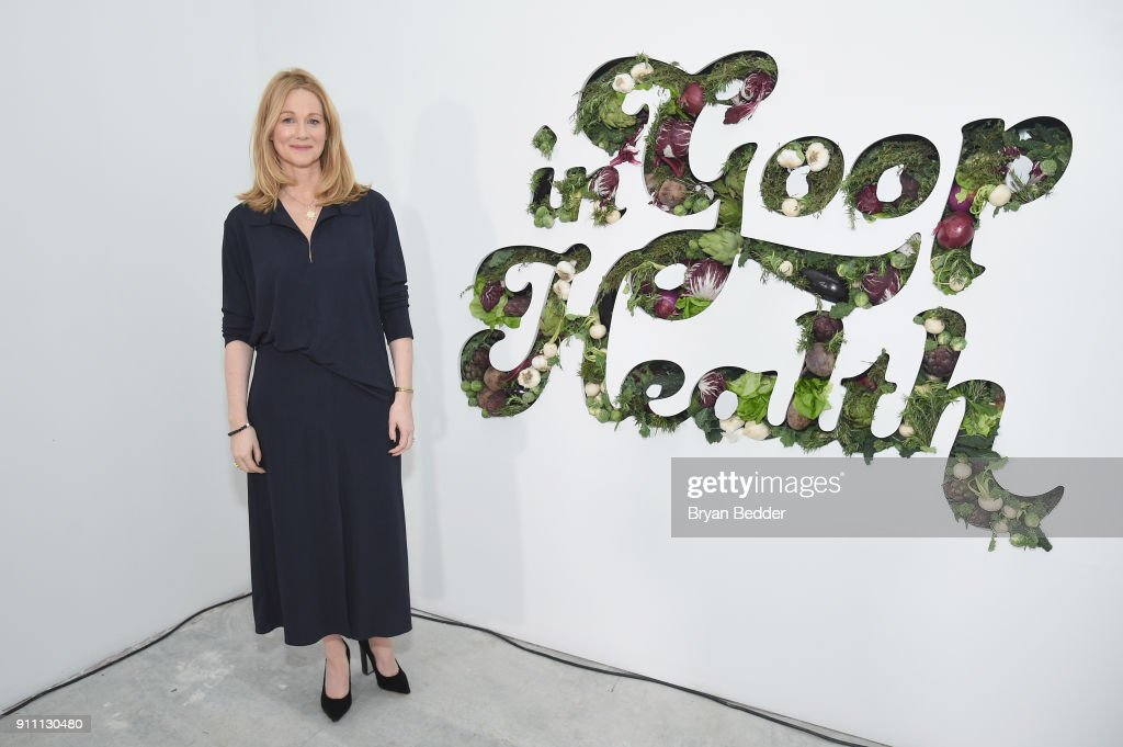 Laura Linney attends the in goop Health Summit on January 27, 2018 in New York City.