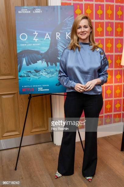 """Laura Linney attends the """"Ozark"""" FYC Screening and Panel at Crosby Street Hotel on May 20, 2018 in New York City."""
