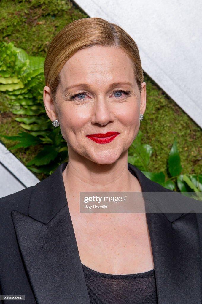 "Laura Linney Attends The ""Ozark"" New York Screening At The"