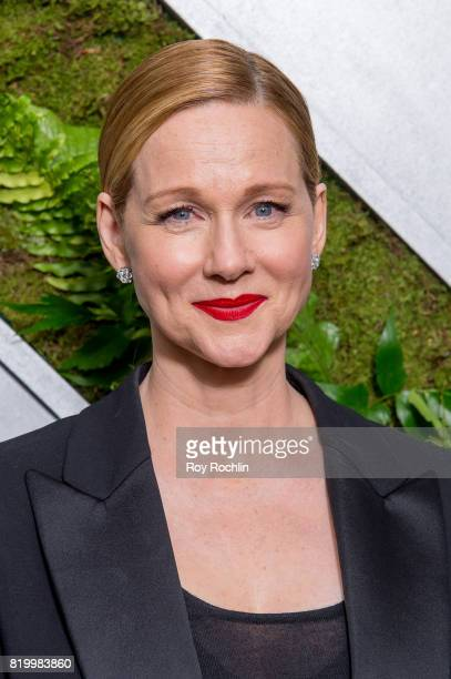 Laura Linney attends the 'Ozark' New York Screening at The Metrograph on July 20 2017 in New York City
