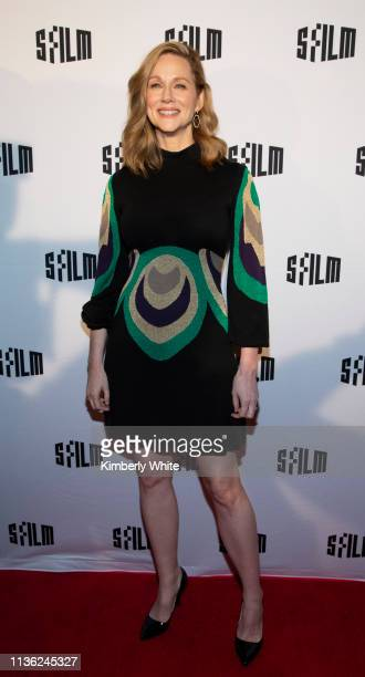 Laura Linney attends the premiere of Armistead Maupin's Tales Of The City at the Castro Theatre on April 10 2019 in San Francisco California