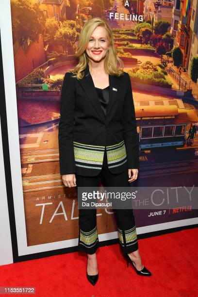 """Laura Linney attends the """"Tales of the City"""" New York premiere at The Metrograph on June 03, 2019 in New York City."""