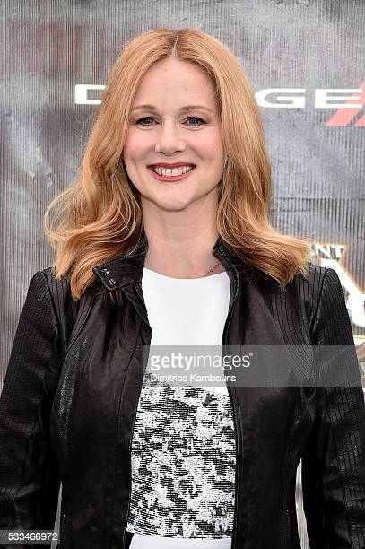 """Laura Linney attends the """"Teenage Mutant Ninja Turtles: Out Of The Shadows"""" World Premiere at Madison Square Garden on May 22, 2016 in New York City."""