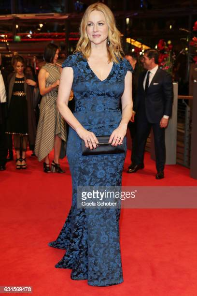 Laura Linney attends the 'The Dinner' premiere during the 67th Berlinale International Film Festival Berlin at Berlinale Palace on February 10 2017...
