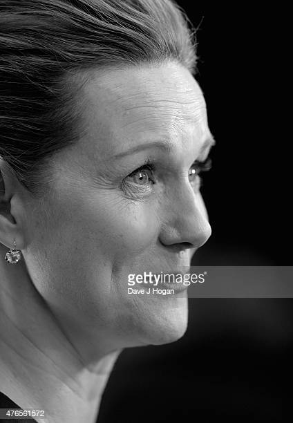 Laura Linney attends the UK Premiere of Mr Holmes at the Odeon Kensington on June 10 2015 in London England