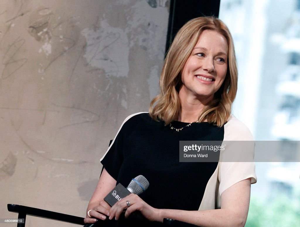 Laura Linney discusses 'Mr Holmes' during the AOL Build Series at AOL Studios In New York on July 13, 2015 in New York City.
