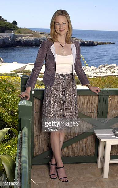 Laura Linney during 2003 Cannes Film Festival 'Mystic River' Portraits at Hotel Du Cap in Cannes France