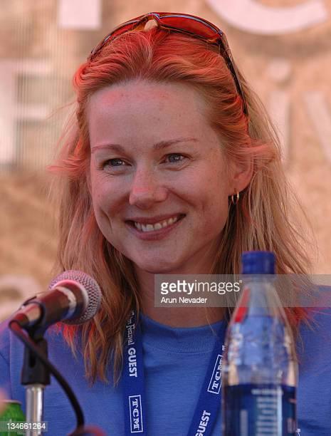 Laura Linney during 33rd Telluride Film Festival Actors Seminar at Elk Park in Telluride Colorado United States