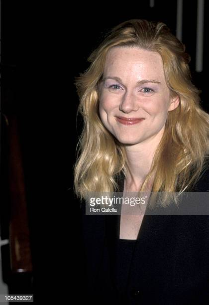 Laura Linney during Opening Night Performance of Uncle Vanya at Brooks Atkins Theater in New York City New York United States