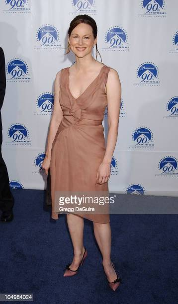 Laura Linney during Paramount Pictures Celebrates 90th Anniversary With 90 Stars for 90 Years at Paramount Pictures in Los Angeles California United...