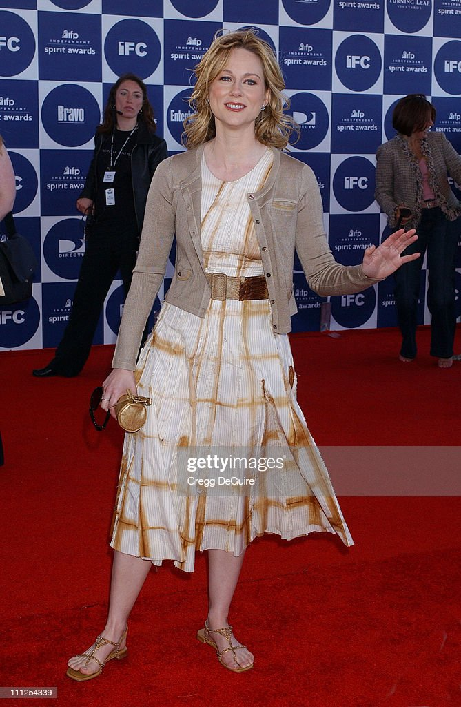 Laura Linney during The 19th Annual IFP Independent Spirit Awards - Arrivals at Santa Monica Pier in Santa Monica, California, United States.