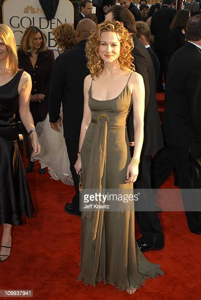 Laura Linney during The 60th Annual Golden Globe Awards - Arrivals at Beverly Hilton Hotel in Beverly Hills, CA, United States.