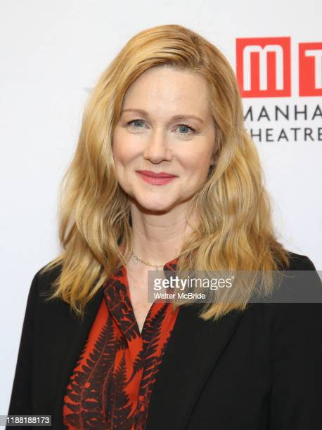 Laura Linney during the My Name Is Lucy Barton Photo Call at the MTC Rehearsal Studio on December 12 2019 in New York City