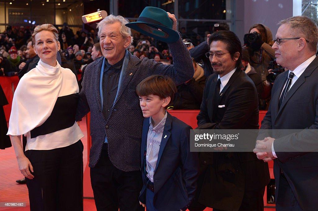 'Mr. Holmes' Premiere - 65th Berlinale International Film Festival : ニュース写真