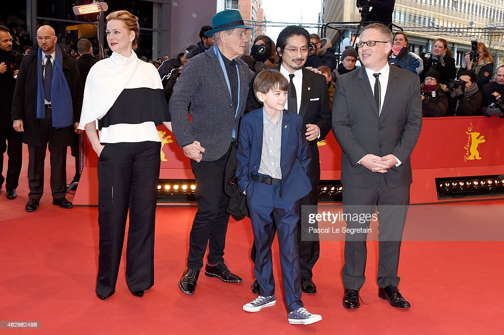 'Mr. Holmes' Premiere - 65th Berlinale International Film Festival : News Photo