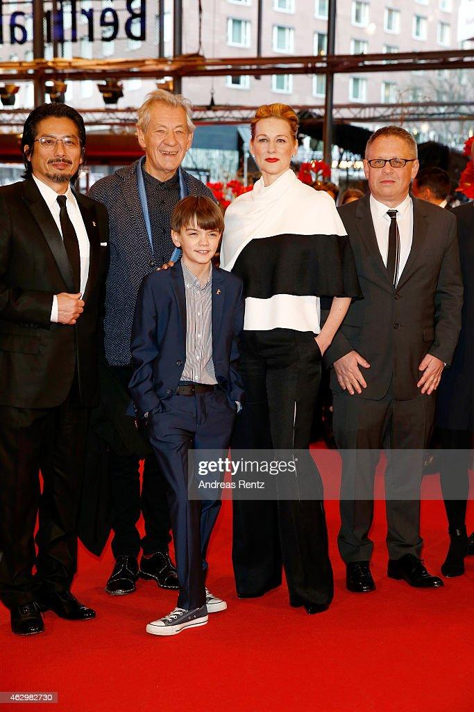 'Mr. Holmes' Premiere - 65th Berlinale International Film Festival : News Photo