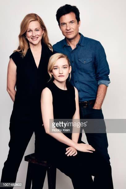 Laura Linney, Julia Garner, and Jason Bateman of Netflix's 'Ozark' pose for a portrait during the 2018 Summer Television Critics Association Press...