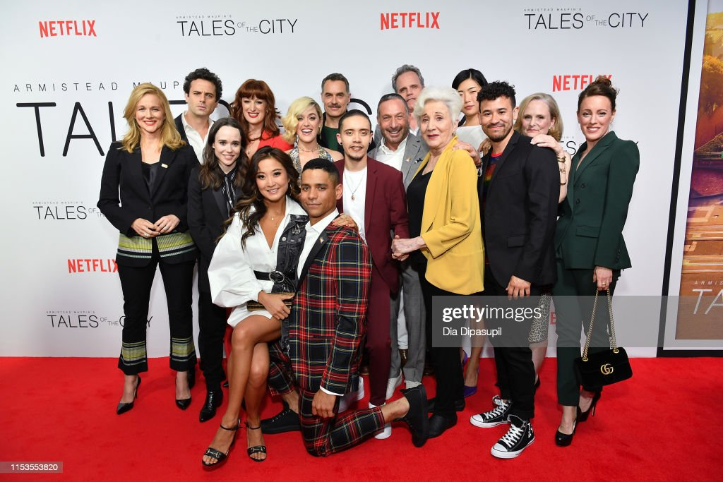 """""""Tales Of The City"""" New York Premiere : News Photo"""
