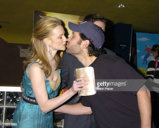 Laura LInney Topher Grace and Paul Rudd during 'PS' New York Premiere at Clearview Chelsea West in New York City New York United States