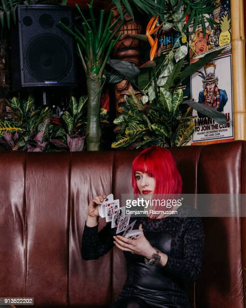 Laura London poses for a portrait in Manchester on February 18 2016 The most talented and innovative magicians in the world are working to change the...