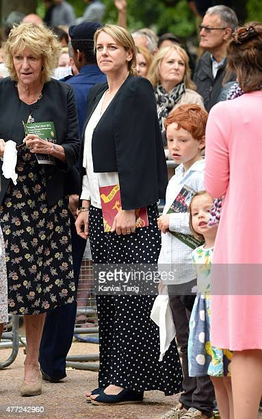 Laura Lopes attends the annual Trooping The Colour ceremony at Horse Guards Parade on June 13 2015 in London England
