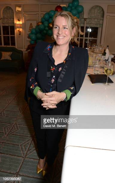 Laura Lopes attends the launch of the Fortnum Mason Christmas Other Winter Feasts cookbook by Tom Parker Bowles at Fortnum Mason on October 17 2018...