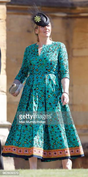 Laura Lopes attends the wedding of Prince Harry to Ms Meghan Markle at St George's Chapel Windsor Castle on May 19 2018 in Windsor England Prince...