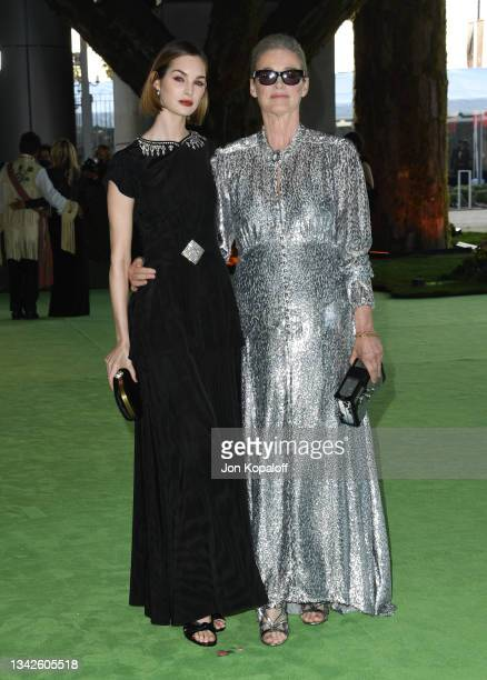 Laura Love and Lisa Love attend The Academy Museum Of Motion Pictures Opening Gala at Academy Museum of Motion Pictures on September 25, 2021 in Los...