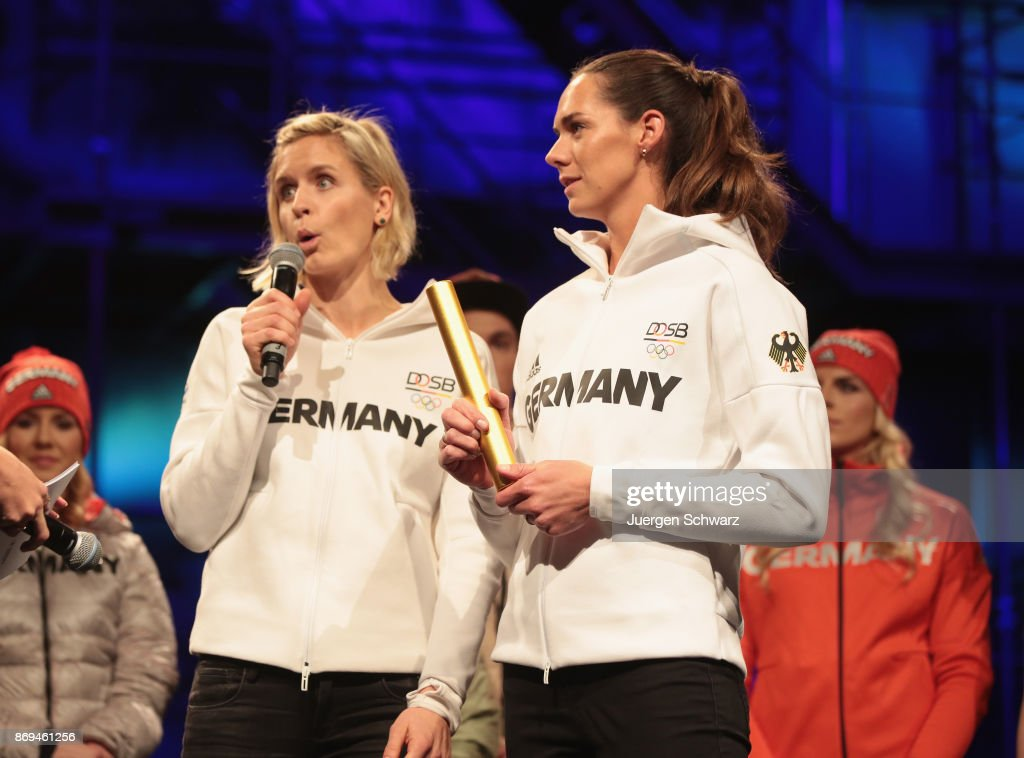 2018 Olympic Games German Team Kit Presentation : Foto di attualità