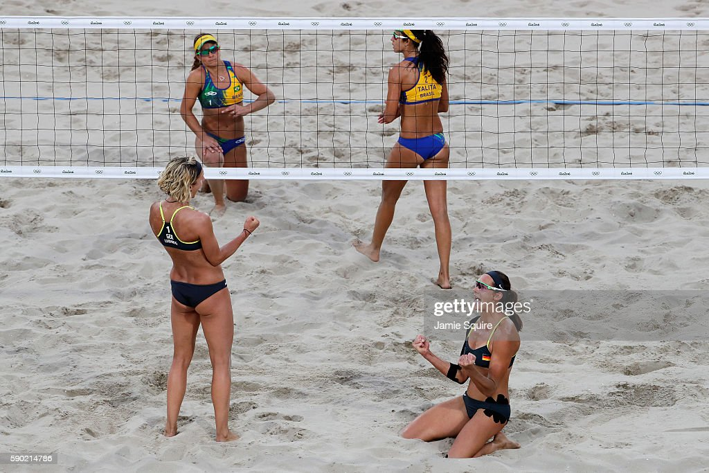 Beach Volleyball - Olympics: Day 11 : News Photo