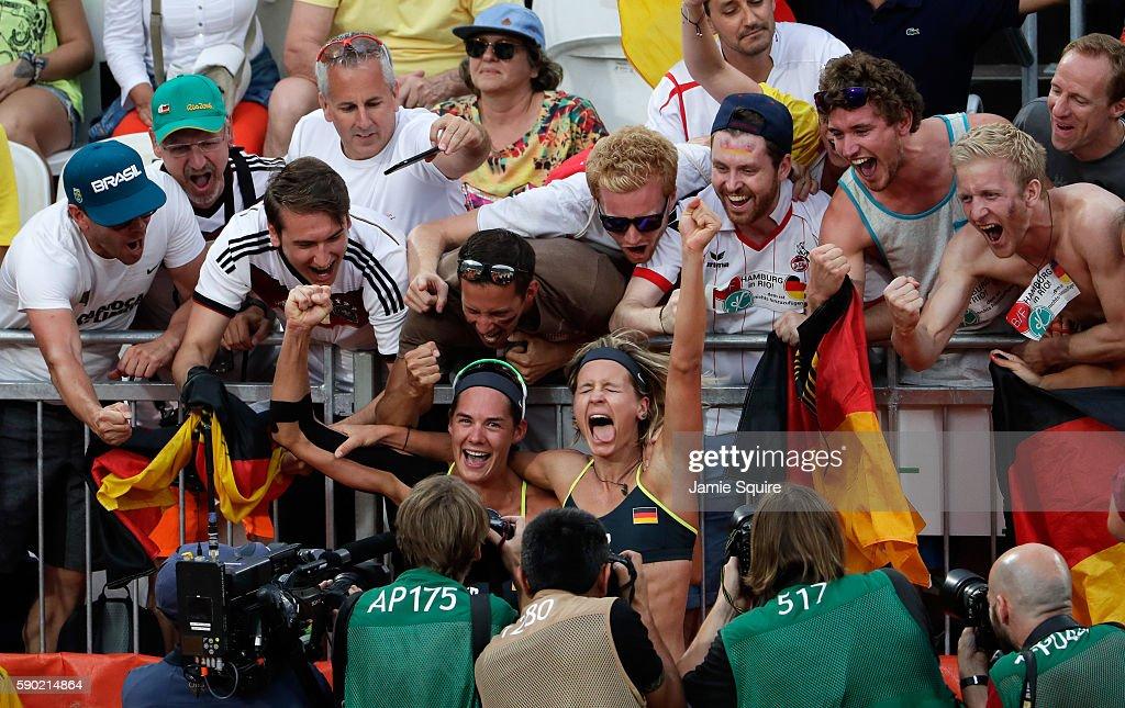 Beach Volleyball - Olympics: Day 11 : Fotografia de notícias