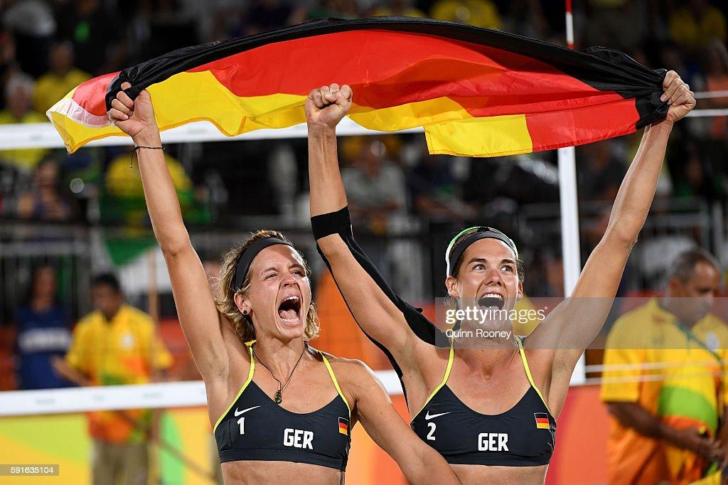 Beach Volleyball - Olympics: Day 12 : News Photo