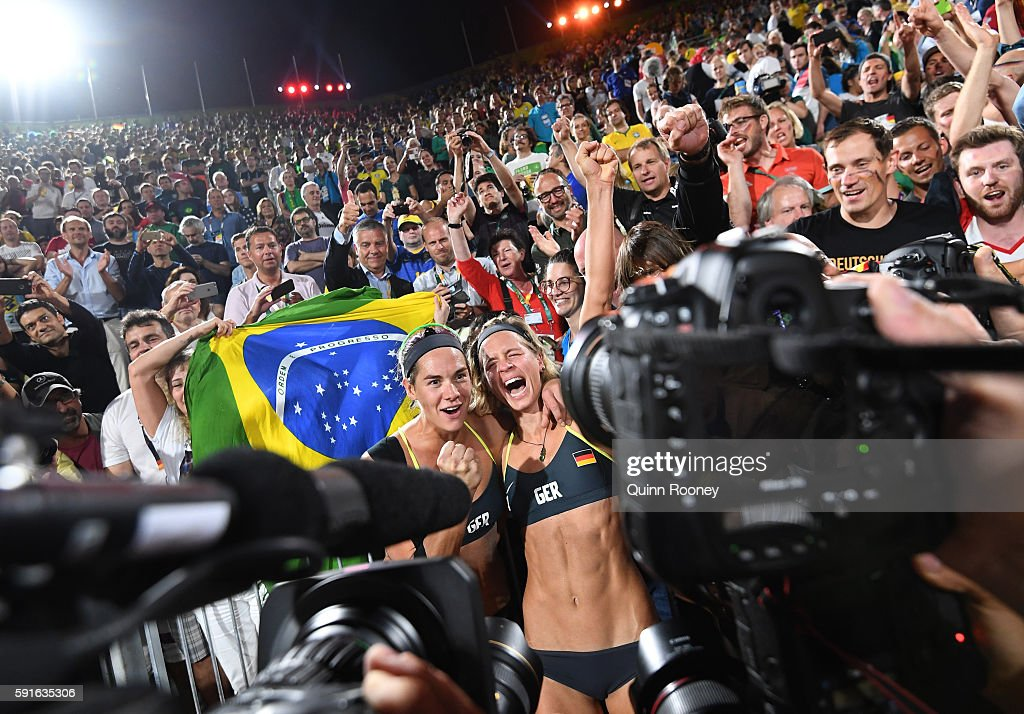 Beach Volleyball - Olympics: Day 12 : News Photo
