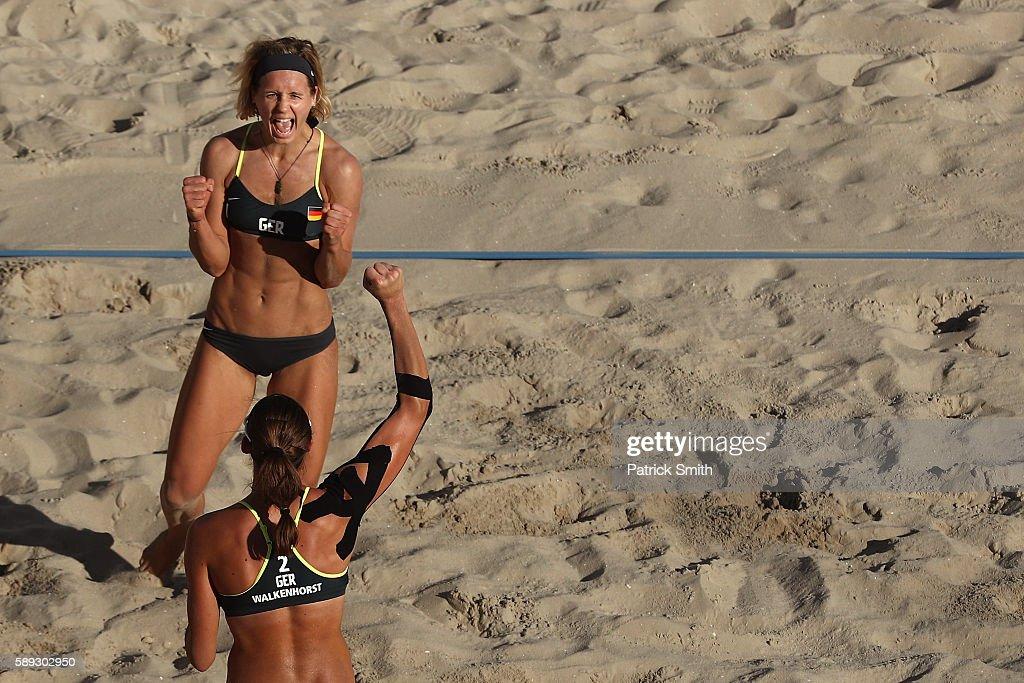 Beach Volleyball - Olympics: Day 8 : Fotografia de notícias