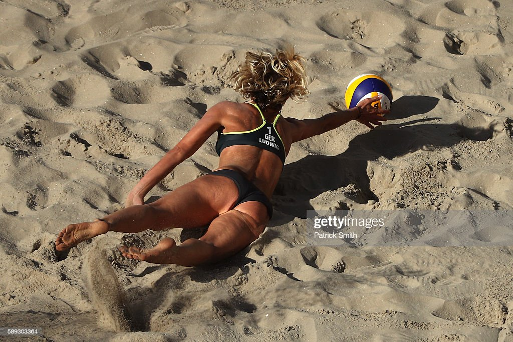 Beach Volleyball - Olympics: Day 8