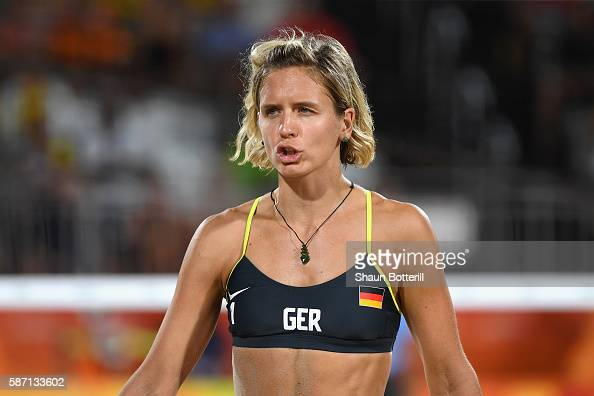 Laura Ludwig Of Germany Reacts During The Women S Beach Volleyball News Photo Getty Images