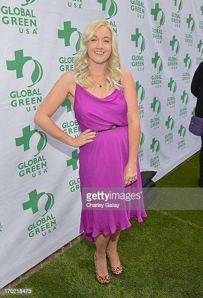 Laura Lynn Bradley attends Global Green USA's Millennium Awards at Fairmont Miramar Hotel on June 8 2013 in Santa Monica California benefiting the...