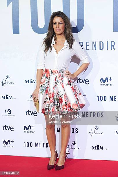 Laura Madrueno attends '100 Metros' premiere at Capitol cinema on November 2 2016 in Madrid Spain