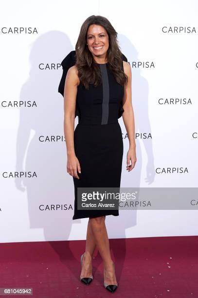 Laura Madrueno attends Carpisa photocall presentation at the Italian Embassy on May 9 2017 in Madrid Spain