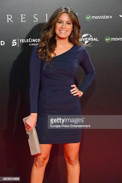 Laura Madrueno attends 'Regression' premiere on September 30 2015 in Madrid Spain