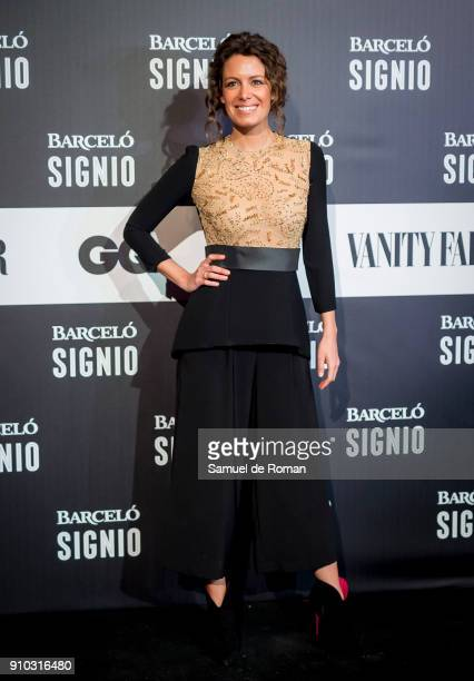 Laura Madrueno attends the 'Generacion X' Party in Madrid on January 25 2018 in Madrid Spain