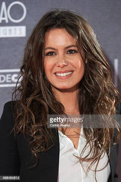 Laura Madrueno attends the 'Invisibles' charity premiere at the Callao cinema on November 23 2015 in Madrid Spain
