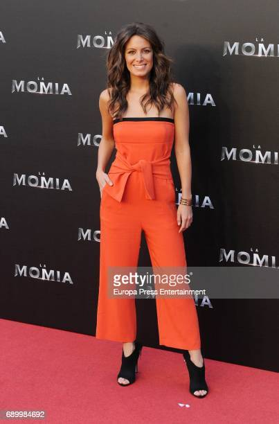 Laura Madrueño attends the premiere for 'The Mummy' at Callao Cinema on May 29 2017 in Madrid Spain