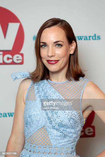 Laura Main arrives for the TV Choice Awards at The Dorchester on September 4 2017 in London England